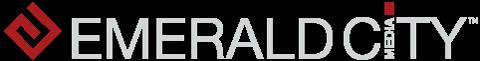 Emerald City Media Logo V5a Gry